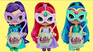 Download Disney Jr. SHIMMER AND SHINE Masquerade Birthday Ball Party, L.O.L.Charm Fizz Surprise Sticker/ TUYC Video