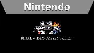 Download Super Smash Bros. for Nintendo 3DS and Wii U - Final Video Presentation Video