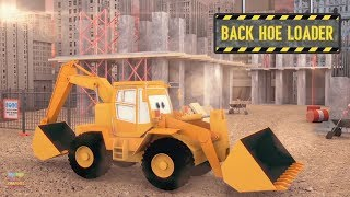 Download Construction Vehicles for Children   jcb   Kids Learning Videos   Street Vehicles Video