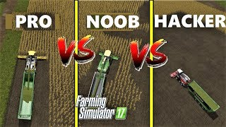 Download Farming Simulator 17 : NOOB vs PRO vs HACKER | Gameplay Comparison Video