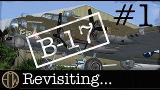 Download Revisiting the Fortress...FSX A2A B17 at KHQM Bowerman Video