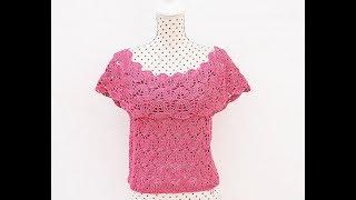 Download Crochet very easy blouse for women Video