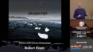 Download JWC 2017 - DATA/API Driven Extensions - Robert Deutz Video