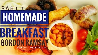 Download Gordon Ramsay's Stunning Homemade BreakFast And Lunch Recipe, Almost Anything Video