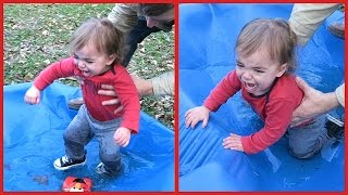 Download BABY GOES FOR WINTER DIP! Video