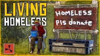 Download Living as a HOMELESS ROLEPLAYER - Rust Survival Challenge #1 Video