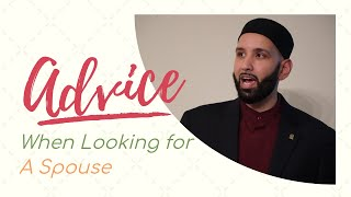 Download Key advice when looking for spouse in islam (getting married) (7mins) Omar Suleiman *EPIC* Video