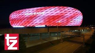 Download 16 Millionen Farben - Arena-Licht-Spektakel - Allianz Arena erstrahlt in neuen Farben - FC Bayern Video