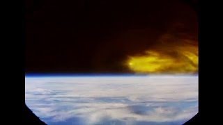 Download ᴴᴰ Full Onboard Re-entry into Earth's Atmosphere ● New NASA Spacecraft Video