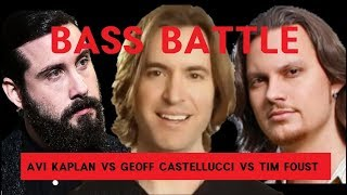 Download Avi VS Geoff VS Tim - BASS BATTLE Eb2 - G0 (low notes only) Video