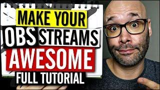 Download OBS Studio Tutorial 2018 (Make Your Streams Look Pro) Video