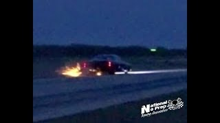 Download Street Outlaws testing out their new combos/Doc Street Beast hits curb! Video