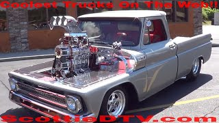 Download 1965 Chevy Pickup Twin Supercharged Video
