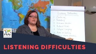 Download Listening Difficulties - International TEFL Academy Video