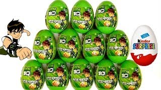 Download Ben10 Surprise Eggs Kinder Surprise From Cartoon Network by Blutoys Play-Doh Sorpresa Huevos Video