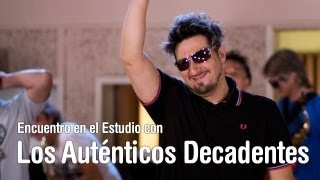 Download Los Autenticos Decadentes - Encuentro en el Estudio - Programa Completo [HD] Video