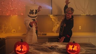 Download Spooky Scary Candy Corn Ft. Ghastly | Cooking with Marshmello [Halloween Special] Video