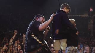 Download Lee Brice's Boys Surprise Him On Stage in Evansville, IN Video