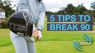 Download 5 GOLF TIPS TO BREAK 90 Video