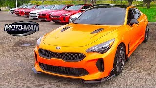 Download 2018 Kia Stinger GT Twin Turbo V6 FIRST DRIVE REVIEW (2 of 2) Video