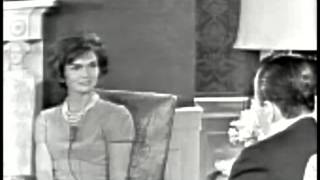 Download March 24, 1961 - New First Lady Jacqueline Kennedy interviewed by Sander Vanocur Video