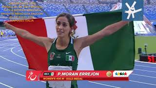 Download Paola Moran Valente Mendoza Medallas de Oro Universiada Napoles 2019 Video