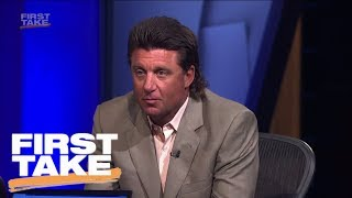 Download OSU's Mike Gundy Talks Rant, Mullet And Snake Hunting | First Take | ESPN Video