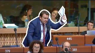 Download Tarczyński w Radzie Europy: Spójrzcie w lustro zanim zaczniecie wytykać Polskę palcami! MOCNE! 💪🇵🇱 Video