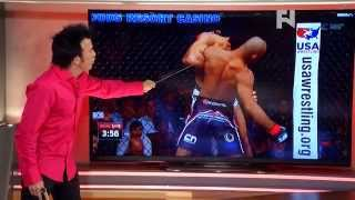 Download 5 Rounds: Robin's Breakdown of Jacare Souza's Takedowns at UFC Fight Night 50 Video