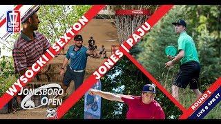 Download Round One 2018 Jonesboro Open presented by Prodiscus | Wysocki, Sexton, Jones, & Paju Video