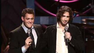 Download Michael Buble vs. Josh Groban Video