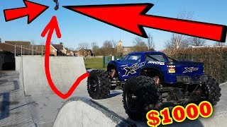 Download $1000 RC Car DESTROYED on Skate Park - Traxxas X-Maxx Edition Video