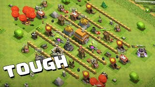 BEST! Town Hall 5 (TH5) TROPHY/WAR Base 2018 !! NEW TH5 War