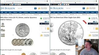 Download 90% Junk Silver vs Silver Eagle, which to buy? Video