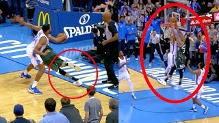 Download Giannis Game Winner | Dunk On Westbrook | But Appears to Step Out of Bounds (Random Moments Week 1) Video