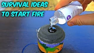 Download 8 Ideas to Start Fire without Matches - Compilation Video