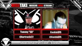 Download NASCAR Draftkings Live Stream - Advanced Auto Parts Clash 2018 w/ @KartRacin22 & @CashinDFS Video