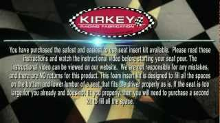 Download KIRKEY'S - Molded Foam Seat Insert Kit Video