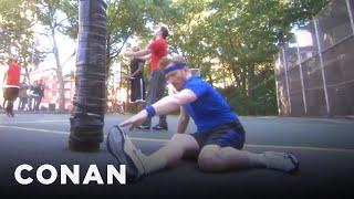 Download Conan Plays NYC B-Ball & Chess - CONAN on TBS Video