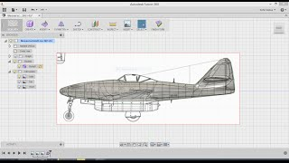 Download Messerschmitt me 262 with Fusion 360 Video