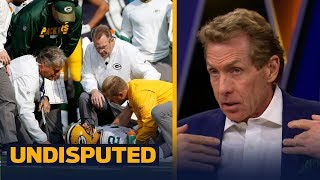 Download Packers QB Aaron Rodgers breaks collarbone in Week 6 - Skip and Shannon react | UNDISPUTED Video
