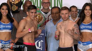 Download Leo Santa Cruz vs. Carl Frampton COMPLETE Weigh In & Face Off Video Video