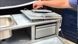 Download D&W - Tailgate Camper Kitchen Aluminium Video