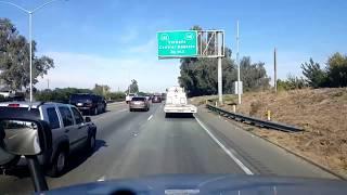 Download BigRigTravels LIVE! Modesto to Sacramento, California CA 99 & 4, Interstate 5-Nov. 22, 2017 Video