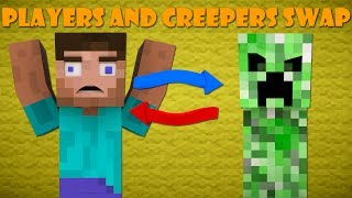 Download If Players And Creepers Swapped Roles - Minecraft Video