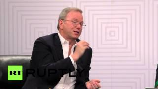 Download USA: 'I'm not a dystopian, I'm a utopian' - Google's Eric Schmidt talks AI Video