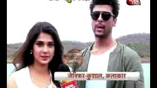Download JENNIFER AND KUSHAL TANDON RETURNS ON SMALL SCREEN WITH BEHAD Video