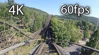 Download Phoenix front seat on-ride 4K POV @60fps Knoebels Amusement Park Video