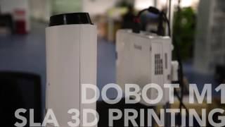 Download SLA 3D Printing Test with Dobot M1 Robotic Arm @Dobotarm Video