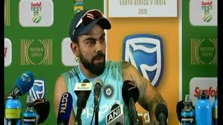 Download When Virat Kohli got angry on Journalist in PC after losing Centurian Test Video